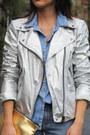 Gold-metallic-h-m-bag-patchwork-h-m-jeans-silver-metallic-zara-jacket
