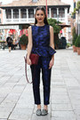 Embroidered-m-s-flats-crimson-celine-bag-navy-peplum-h-m-trend-top