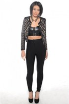Akira jacket - Akira leggings - Jeffrey Campbell pumps