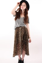 brown ShopGoldiecom skirt