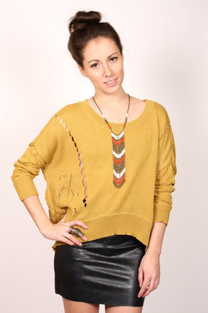 mustard ShopGoldiecom sweater