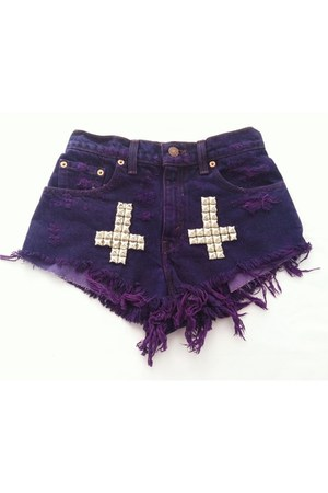 deep purple ShopGoldie shorts
