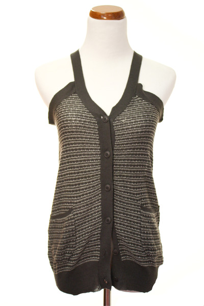 gray Kersh vest