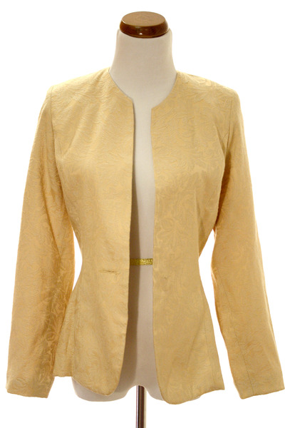 yellow Cline & Kolarek blazer