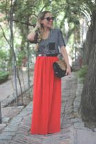 Zara t-shirt - Celop Punto shirt - Zara bag