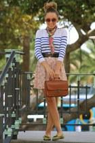 BLANCO bag - BLANCO dress - Pull and Bear jumper - Pilar Burgos flats