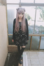 Black-musical-note-ebay-dress-black-legging-ebay-tights