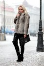 Zara-boots-vintage-coat-vintage-purse-glow-fashion-pants