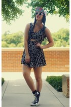 SwayChic dress - milkcrate athletics hat - Converse sneakers