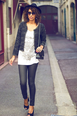 dark gray BLANCO cardigan