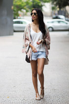 light pink Zara blouse