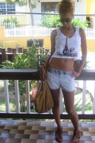 BLANCO shorts - Ulanka shoes - Bershka accessories