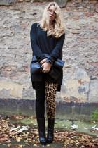 tripp jeans - YSL boots - American Apparel bag - Moxham bracelet