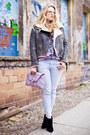 Thakoon-boots-current-elliot-jeans-acne-jacket-luella-bag-vintage-blouse