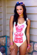 GUMMY BEAR ONE-PIECE SWIM SUIT