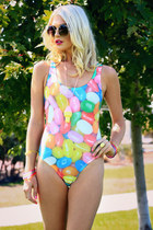 JELLY BEAN ONE-PIECE SWIM SUIT