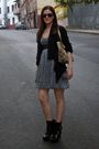 Black-dolce-vita-boots-blue-zara-dress-black-jlo-cardigan-gold-coach-purse