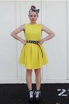 yellow Self Made dress