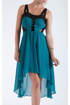 Chiffon High-Low Day Dress
