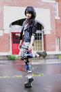 Cathedral-black-milk-clothing-leggings-jeffrey-campbell-wedges