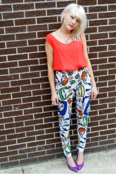 abstract some velvet vintage esprit pants