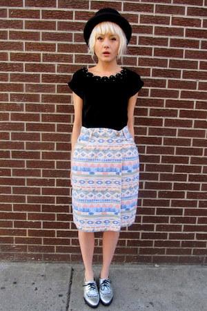 aztec some velvet vintage skirt