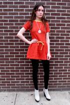 some velvet vintage dress