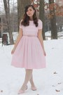 Light-pink-vintage-dress-ivory-oasap-tights-light-pink-thrifted-loafers