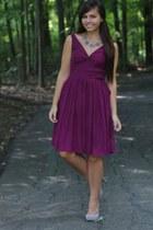 magenta Jcrew dress