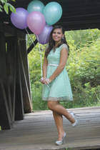 aquamarine delias dress