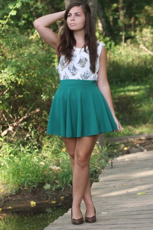 OASAP skirt - Forever21 shirt