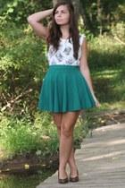 OASAP skirt - Forever21 shirt