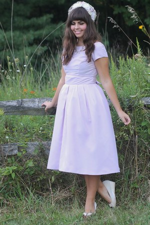 light purple thrifted dress