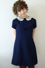 Vintage-dress-american-apparel-tights-vintage-shoes-vintage-accessories