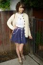 Vintage-top-vintage-skirt-vintage-shoes-vintage-cardigan-vintage-purse