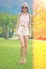 Light-pink-marisa-shorts-black-chilli-beans-sunglasses