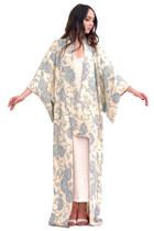 Harlow Reversible Silk Kimono