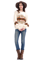 cream knit jumper sweater