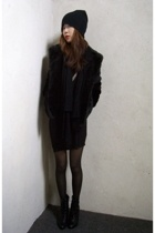H&M jacket - dress - H&M hat - payless