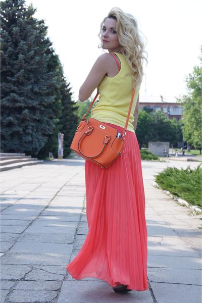 silk Zara skirt