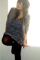 Charlotte-Russe dress - Charlotte-Russe blazer