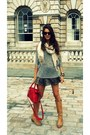 Balenciaga-bag-topshop-shorts-forever-21-cardigan