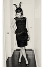 Black-peplum-lace-london-times-dress-black-lace-gloves