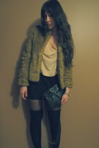 H&M coat - Michael Kors watch