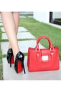 Black-christian-louboutin-pumps-white-mood-closet-dress-red-miu-miu-bag