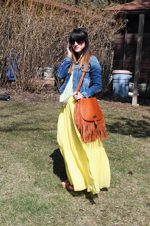 Hive and Honey skirt - Pepe Jeans London jacket - Loft scarf