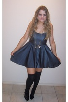 American Apparel dress - dodgy sock stall socks