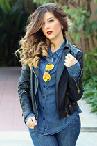 Guess jeans - See Thru Soul jacket - Guess top