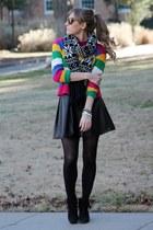 black Forever 21 scarf - black Target heels