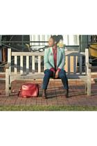 H&M boots - Express jeans - Henri Bendel blazer - Express shirt